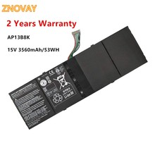 Laptop Battery AP13B8K for Acer Aspire V5 Series V5-472 V5-472G V5-472P V5-472PG V5-473 V5-473G V5-452 V5-452P 15V 53WH
