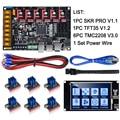 BIGTREETECH SKR PRO V1.1 32Bit Control Board + TFT35 Touch Screen + TMC2130 SPI TMC2208 TMC2209 3D Drucker Teile vs v1.3 MKS GEN L