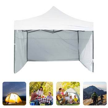 1pcs Portable 3 2m Oxford Cloth Rainproof Garden Shade Side Wall Waterproof Tent Replacement Cover
