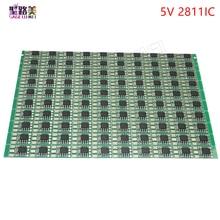WS2811 IC led Pixel nodo del Modulo Luminosa No Wire Indirizzabile ha condotto la lampada di chip 50pcs 5V 12 millimetri