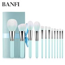 12PCs Make up Brushes Set For Cosmetic Tools Kit Powder Concealer Eye Shadow Brush Women