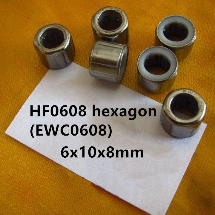 20pcs EWC0608 EWC0809 EWC0812 EWC1010 EWC1012 EWC1216 One Way Roller Bearing 6x10x8 8x12x9 8x14x12 10x16x10 10x16x12 12x18x16 Mm