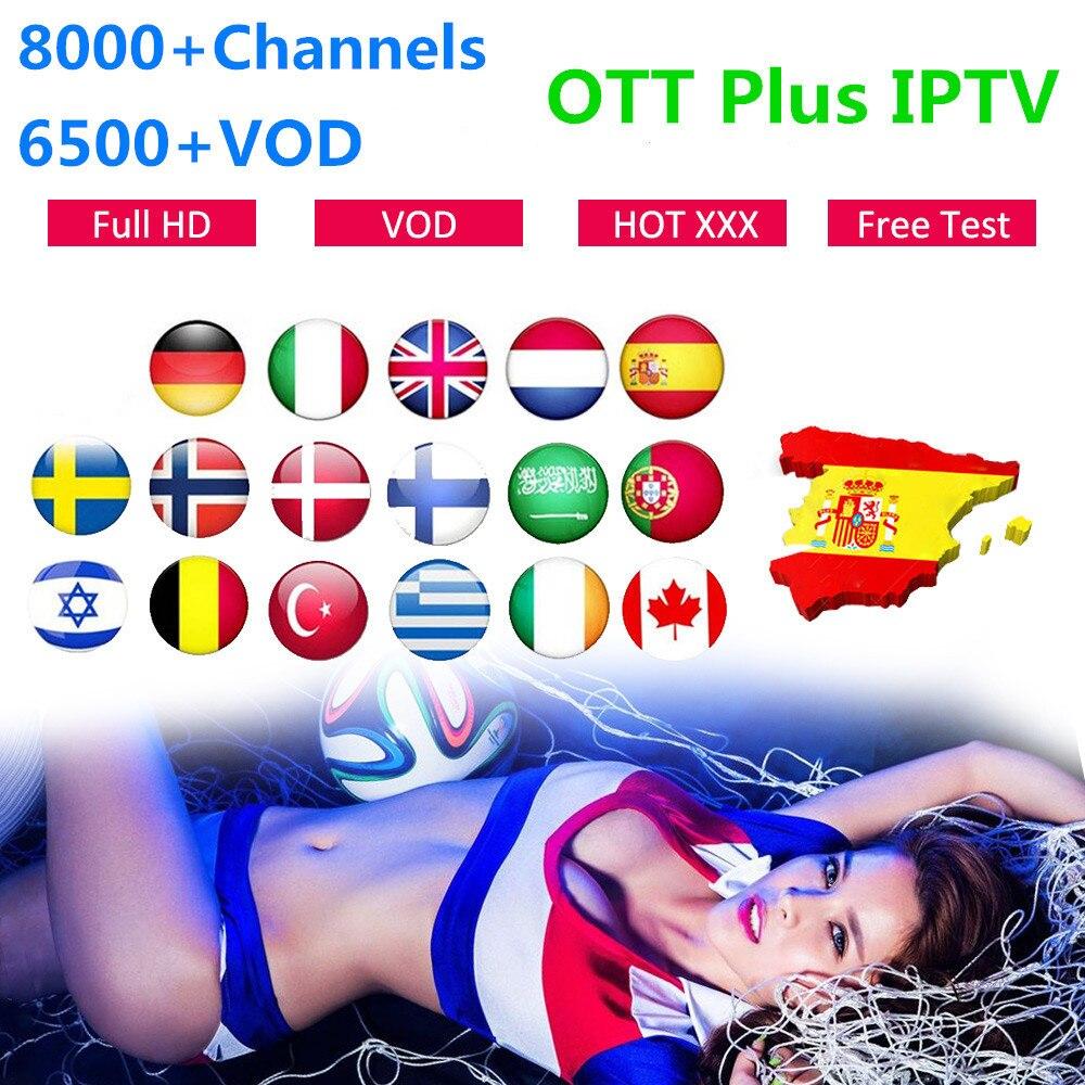 Pełna HD subskrypcja IPTV UK kanada arabski hiszpania portugalia IPTV m3u Android 8000Live IPTV holenderski belgia szwecja USA włochy IP TV