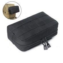 Bolsa táctica Molle para exteriores, riñonera de combate compacta EDC, chaleco de utilidad, bolsa de almacenamiento de revistas de nailon 1000D