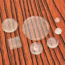 Many Styels Door Stopper Silicon Rubber Kitchen Cabinet Self Adhesive Stop Damper Buffer Pad Furniture Hardware