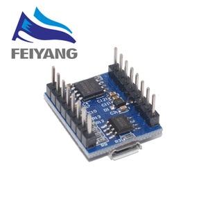 Image 2 - 10 шт. JQ6500 модуль голосовой звуковой платы USB DIP16 TTL UART MP3 Breakout Замена One to 5 Way MP3 Voice 3,2 5V 20mA