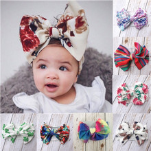 Baby  Girls Bow Hairband Turban Knot Headband Girl Headwear Newborn