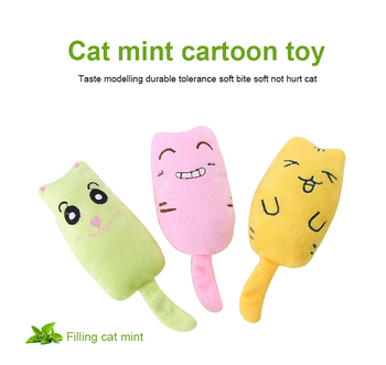 Pet Products Cat Self-hey Toy Modeling Plush Toy Throwing Toy Cotton Puppet Training Toy Puppy Cat Toys Interact Training Suppli image