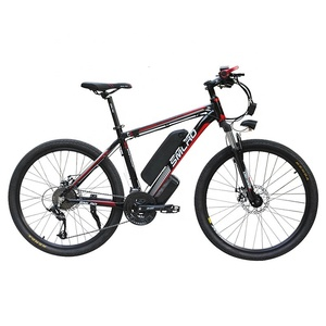Image 3 - New C6 Product 26 inch electric bike/electric bicycle 48V 10AH 350W with 21 speed high quality