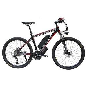 Image 3 - Nowy C6 produktu 26 cal rower elektryczny/rower elektryczny 48V 10AH 350W z 21 prędkości wysokiej jakości