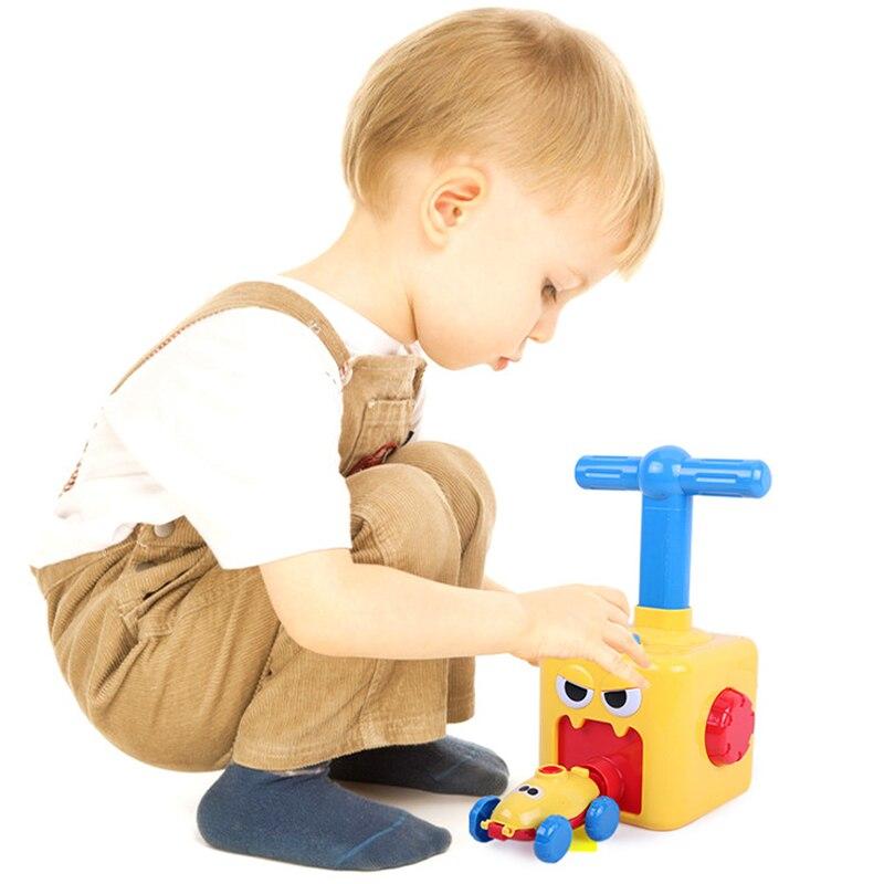 Erőgömbös autós játék Montessori játékok oktatási kísérlet - Modellautók és játékautók - Fénykép 4