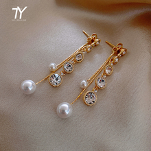 2020 New Pearl dangle Earrings for woman sexy and elegant jewelry Halloween girl's Earrings temperament celebrity accessories