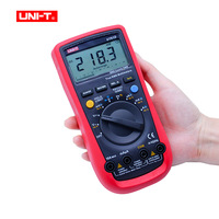 Digital Multimeter UNI T UT61D AC/DC voltage Current Ohm meter Capacitance Resistance Frequency Diode Tester RS232 PC connection