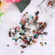 1 caixa natural áspero minério mineral espécime cristal de quartzo pedra preciosa crua energia pedras jóias fazendo geografia fontes ensino