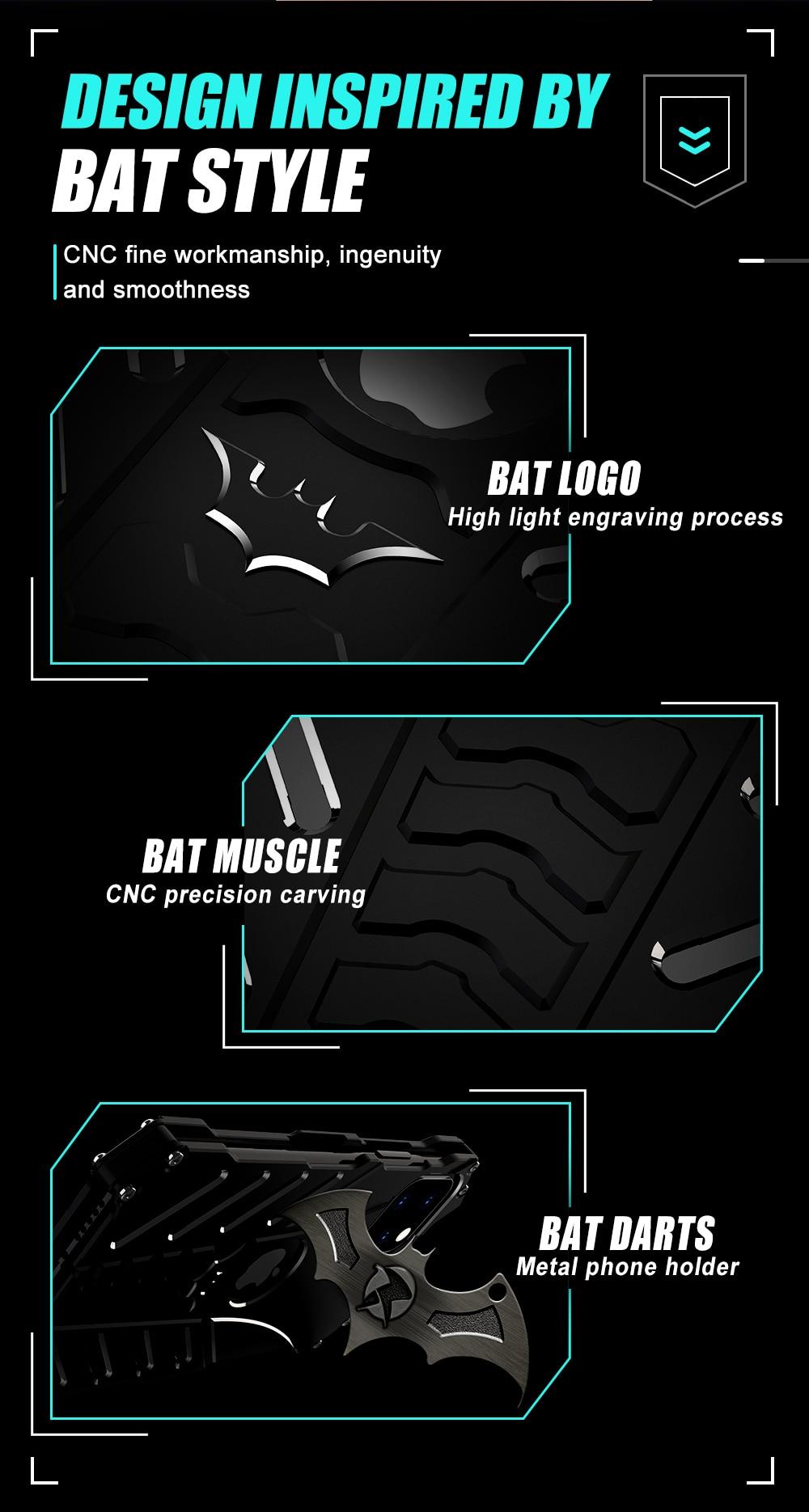 iPhone 12 Batman Aluminum phone case (4)