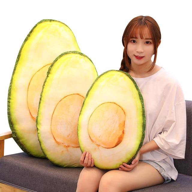 Avocado Plush Pillow 1