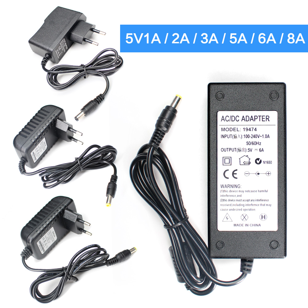 AC DC 5V 9V 10V 12V Switching Power Supply 24V 13V 15V 1A 2A 3A 5A 6A 8A Inverter 220V To 12V 5V 24V Power Supply SMPS Mean Well