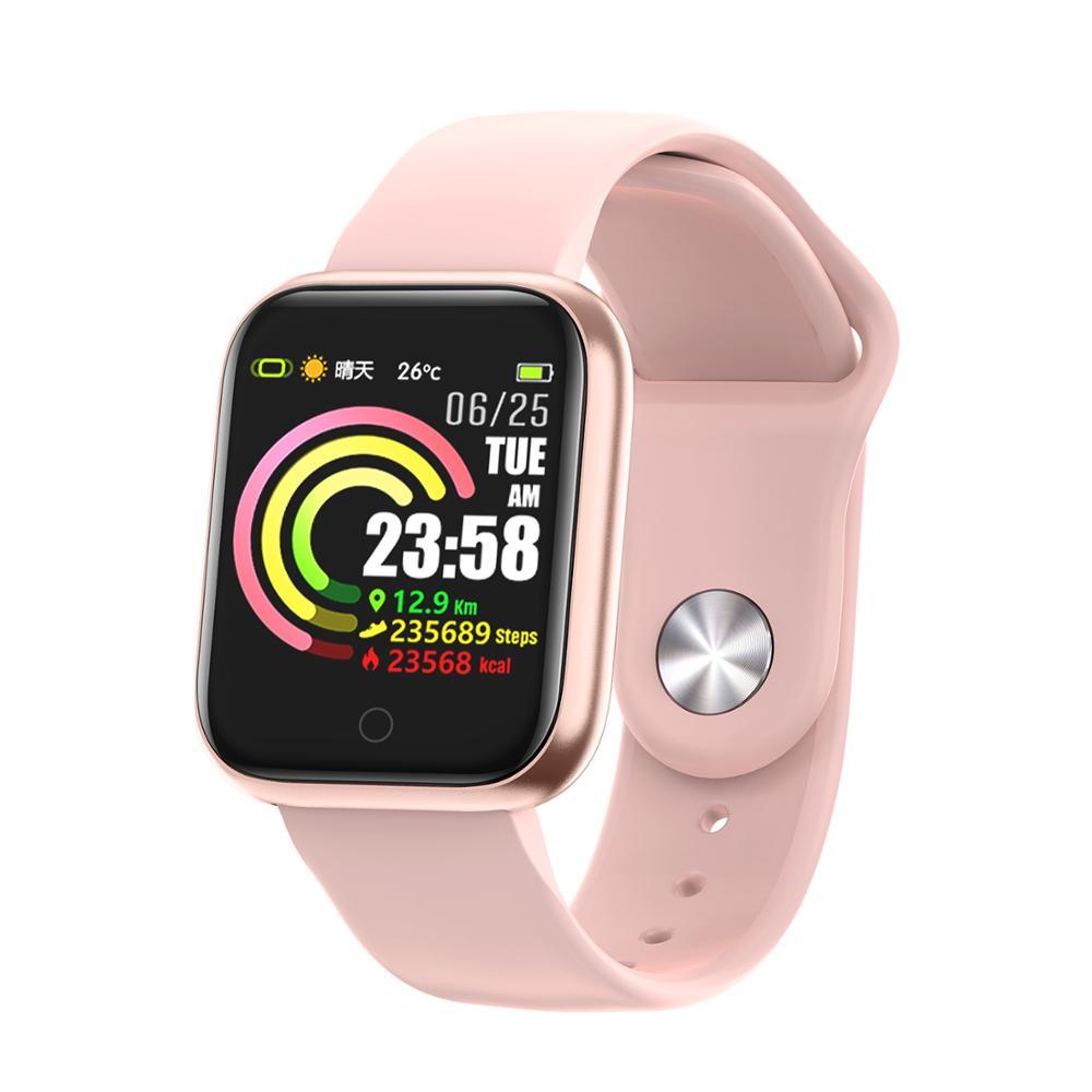 QW21 Sport Smart Bracelet Heart Rate Blood Pressure Oxygen Sleeping Monitoring Smart Remind Sport Pedometer Waterproof PK F8 B57