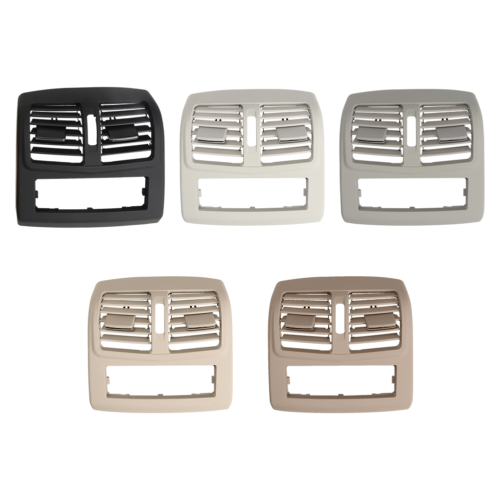 Autocar Rear Center Console Fresh Air Outlet Vent Grille Grill Cover NO Hole for Mercedes Benz E-Class W212 2009-2014