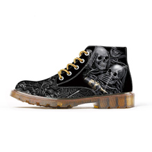Custom Shoes Big Size High Top Outdoor Fashion Boots Spring 3D Printing Canvas O
