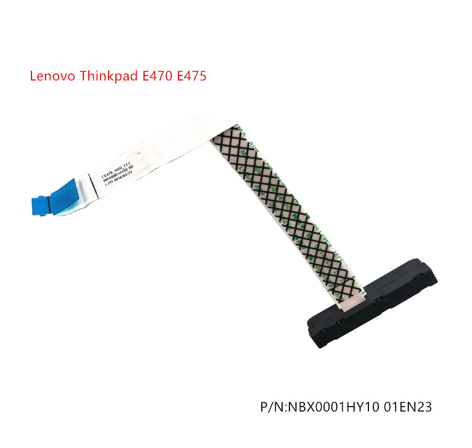 New Original For Lenovo Thinkpad E470 E475 HDD SATA Hard Drive Cable NBX0001HY10 01EN23