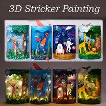 Kreatywne zabawki edukacyjne dla dzieci DIY kreskówka zwierząt 3D mikro element dekoracji krajobrazu sztuka i rzemiosło zabawki na prezent urodzinowy dla dziewczynki