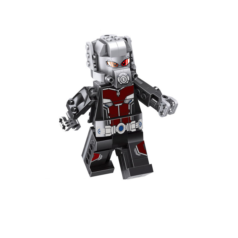 Big Size Iron Man Ant-Man Captain America Loki Thor Spider-Man Thanos Figures Building Blocks For Children Toys Learning PG8258