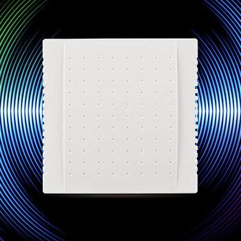 1 Piece 108x108x36mm 220V Wired Doorbell Din Don Hardware Doors Bells Hotel Door Bell Panel  Doorbells