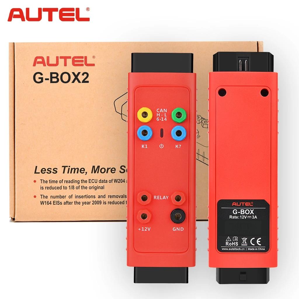 Autel G BOX2 Tool for Mercedes Benz All Key Lost Work with MaxiIM IM608/IM508|Auto Key Programmers| - AliExpress
