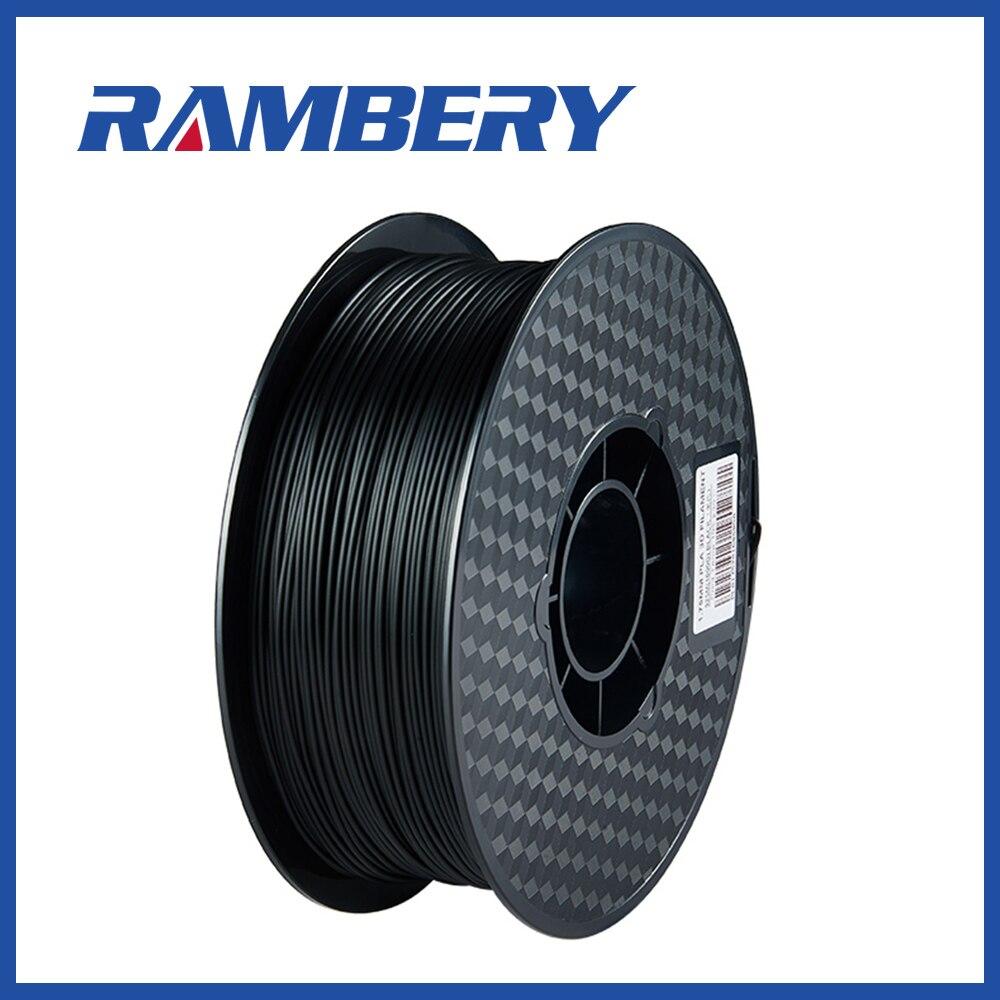 3D Drucker Pla Filament 1,75mm 1 kg/2.2lb Genauigkeit +/-0,05mm ABS/PLA 3D drucker 1,75mm Filamento schwarz