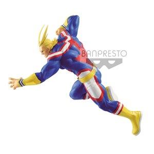 Image 3 - Tronzo Original Banpresto Action Figure My Hero Academia All Might Figure PVC Collection Model Toys All Might Doll Brinquedos