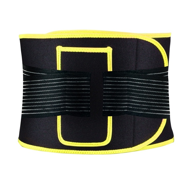 Portable Waist Belt Adjustable Compression Sweating Slimming Wrap Trainer Exercise Fitness Unisex Slimming Training Sport Belt 3
