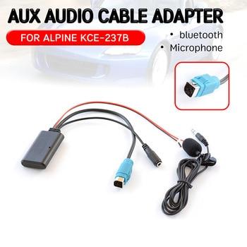 Adaptador de Cable receptor Aux bluetooth para Alpine KCE-237B, interfaz de audio...