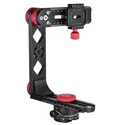 PH-720B 720 Degree Panoramic Head Aluminium Alloy with Ball Head Quick Release Plate Kit for Nikon Canon Sony DSLR Camera