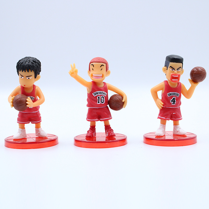 Image 3 - 5pcs/set Basketball Cartoon Character Car Ornament Decoration Car Accessories Ornament Interior Hanging Pendant for Girls-in Ornaments from Automobiles & Motorcycles