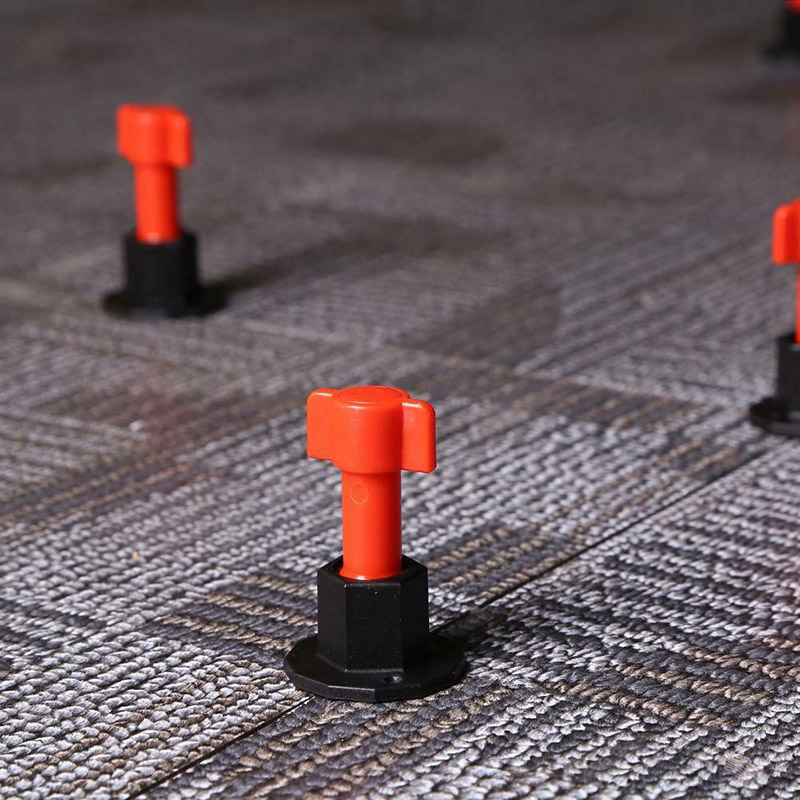 75 Pcs Reusable Anti-Lippage Tile Leveling System Locator Tool Ceramic Floor Wall MU8669