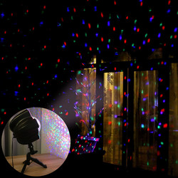 Remote Star Galaxy Laser Projector Starry Sky Stage Lighting Effect Kids Room Party Night Outdoor Holiday Christmas Lights
