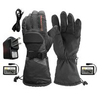 Winter Warmer Electric Thermal Sport Gloves Waterproof Touch Screen Heated Gloves Battery Powered For Motorcycle Snow Ski Gloves