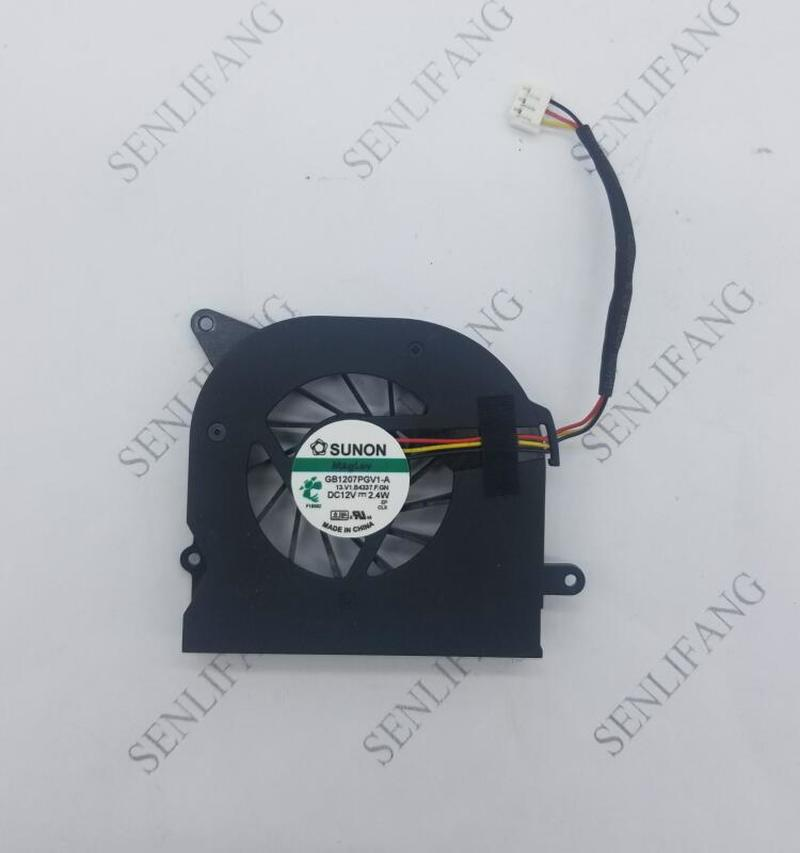 Genuine For MSI AE2020 Haier Q5 Q5-D212 Q5-C220 Q5-D201 Q5-C801 GB1207PGV1-A 13.V1.B4337.F.GN DC12V 2.4W 3wire 3pin CPU Fan