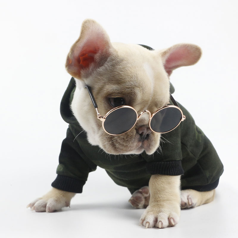Fashion Dog Cat Sunglasses Small Dog Glasses Pet Products for Pet Cat Glasses Dog Eye-Wear Photos Pet Accessories Round Glasses