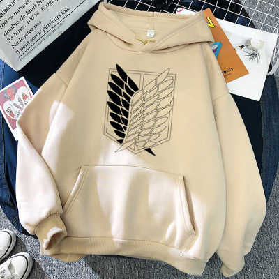 Attack on Titan Hoodies Unisex Male Female Print Shingeki No Kyojin Anime Clothes Loose Casual Streetwears Link Aesthetic Korean 15