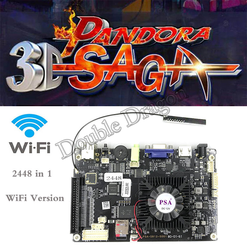 2448 In 11080hd Arcade Machine Multi Pcb Board Pandora Box 7 With 140 3d Games Wifi Version Free Online Download Games