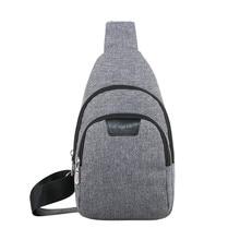 Chest Bag Men And Women Casual Wild Messenger Bag Outdoor Travel Shoulder Bag сумка мужская