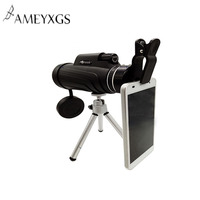 10X52 Monocular Telescope Cell Phone Camera Magnification 8x Lens Single Cylinder Outdoor Hunting Camping Scopes Spotting