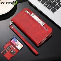 Funda de cuero para teléfono Huawei, carcasa magnética con ranuras para tarjetas, para P40, P30, P20, Mate10, Mate20 Lite Pro Plus, Huwei P40lite