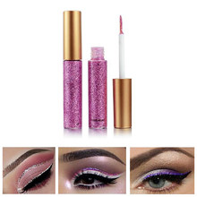 2019 New Fashion Incredible10 Colour Waterproof Matte Eye Cosmetics Shadow Eyeliner Long Lasting Sexy Charming Eye Liner Pen Hot(China)