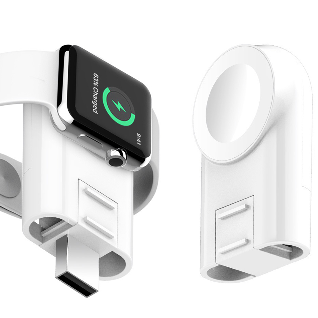 A6 Portable Wireless Charger for iWatch 4/3/2/1 Series Magnetic Charging Fast USB iwatch