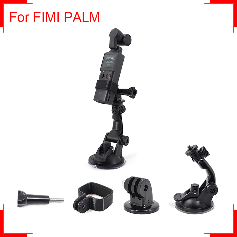 FIMI PALM Car Glass Suction Cup Mount Holder Expansion Accessories Stand Bracket For Handheld Gimbal Camera Stabilizer Wholesale
