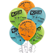 12 Uds. El Rey León de Globos de látex de 12 pulgadas, suministros de fiesta de cumpleaños, juguetes de globo Kion para niños, Globos