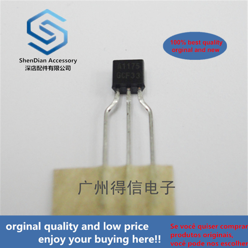 30pcs 100% Orginal New KSA1175 A1175  TO-92S Low Frequency Amplifier Real Photo